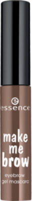 Гелевая тушь для бровей Essence Make Me Brow Eyebrow Gel Maskara 02 browny brows: фото