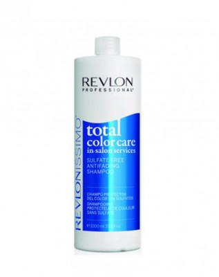 Шампунь анти-вымывание цвета без сульфатов Revlon Professional 1000 мл RCC: фото