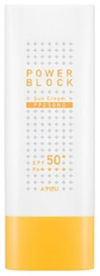 Солнцезащитный крем A'PIEU Power Block Sun Cream Pposong SPF50+/PA++++ 50мл: фото