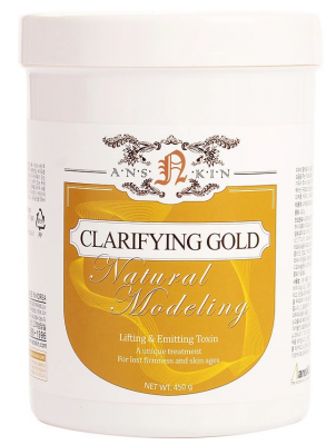 Маска альгинатная лифтинг-эффект Anskin Clarifying Gold Modeling Mask 450г: фото
