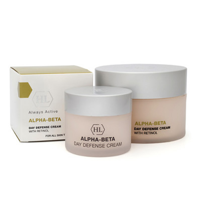 Крем дневной защитный SPF30 Holy Land Alpha-Beta & Retinol Day Defense Cream 50 мл: фото