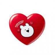 Тинт для губ универсальный THE SAEM Over Action Little Rabbit Love Me Multi Pot 01 It's Love 1,2гр: фото