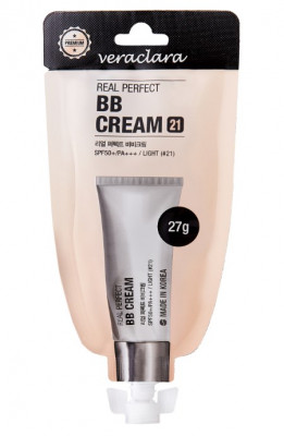 BB-крем для лица Veraclara Perfect BB Cream SPF50+ PA+++ тон21 27г: фото