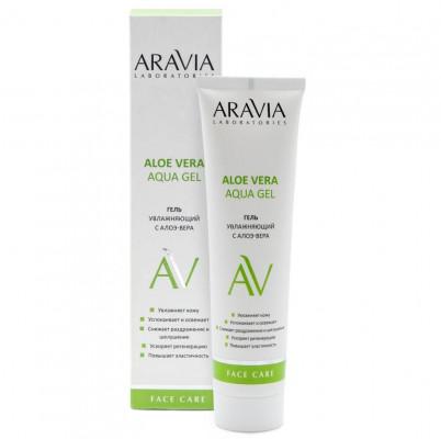 Увлажняющий гель с алоэ-вера Aravia professional Aloe Vera Aqua Gel, 100 мл: фото