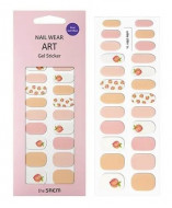 Наклейки для ногтей THE SAEM Nail Wear Art Gel Sticker 10 Peach: фото