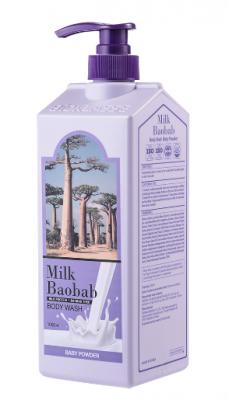 Гель для душа с ароматом детской присыпки Milk Baobab Original Body Wash Baby Powder 1000мл: фото