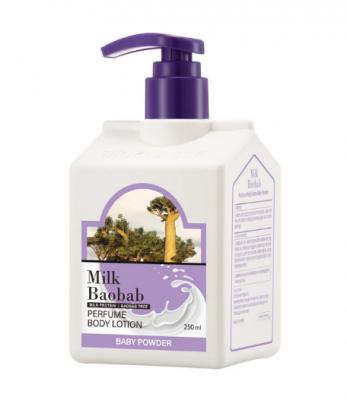 Лосьон для тела с ароматом детской присыпки Milk Baobab Perfume Body Lotion Baby Powder 250 мл: фото