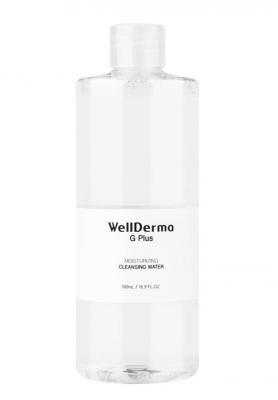 Жидкость для снятия макияжа WELLDERMA G Plus Moisturizing Cleansing Water 100 мл: фото