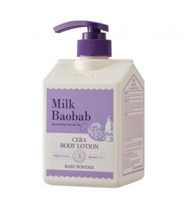 Лосьон для тела с керамидами, с ароматом детской присыпки MILK BAOBAB Cera Body Lotion Baby Powder 600 мл: фото