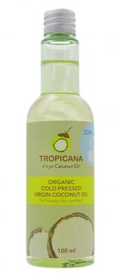 Масло для кожи и волос МОКЕ TROPICANA Organic Cold Pressed Virgin Coconut Oil Moke 100мл: фото